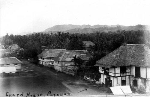 American guardhouse in Cagayan de Misamis circa 1900