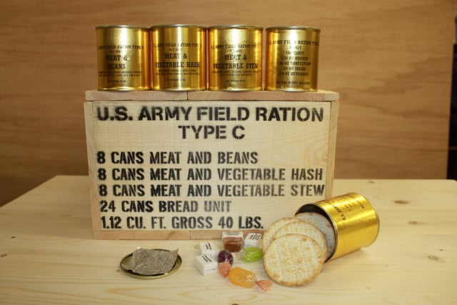 World War 2 Field Ration by U.S. Army that our grandparents may have tasted.